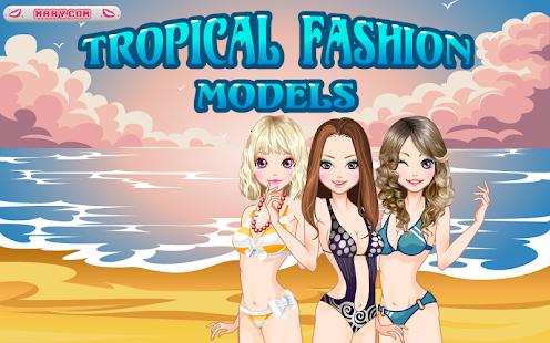 Tropical Fashion Models -免费 休閒 App-愛順發玩APP