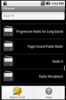 Screenshot of USRadios