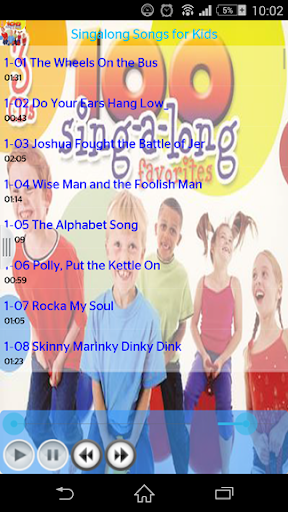 Singalong Songs for Kids