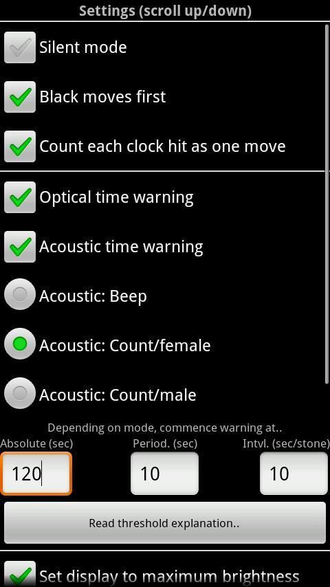 Igo Clock- screenshot