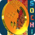 Sochi Gold Live Wallpaper Free icon
