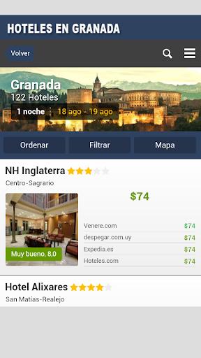 Hoteles en Granada