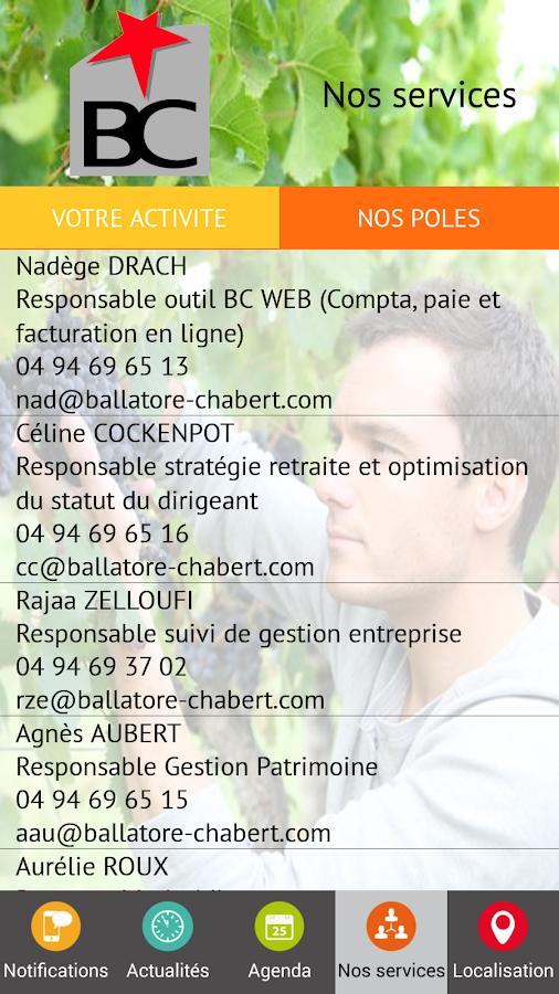 Ballatore et Chabert- screenshot