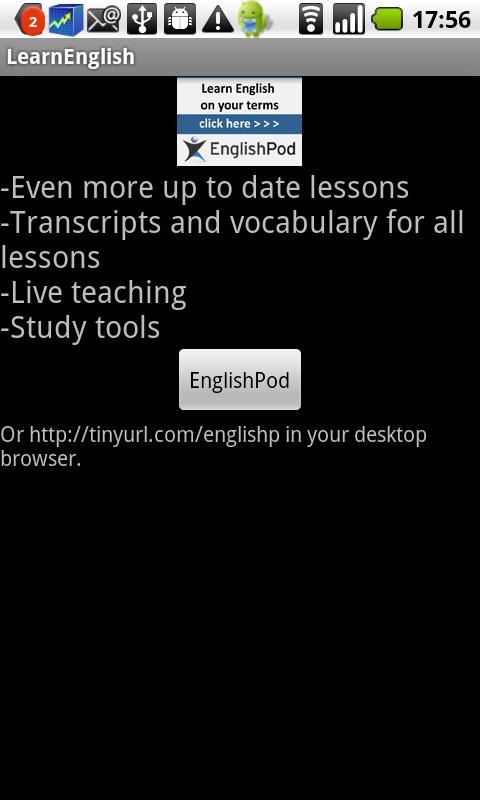 LearnEnglish - screenshot