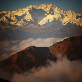CLOSE UP VIEW OF MOUNT KANCHENJANGHA..... by Arindam Bhattacharya - Landscapes Mountains & Hills ( inspiring, free, freedom, inspire, emotion, inspirational )
