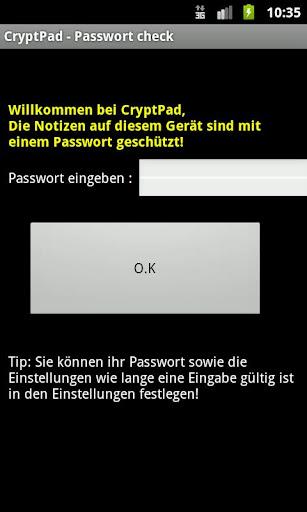 CryptPad Memos m. Passwort