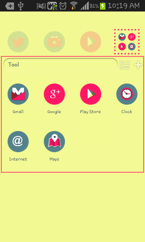 Happy NewYear go launcher - screenshot