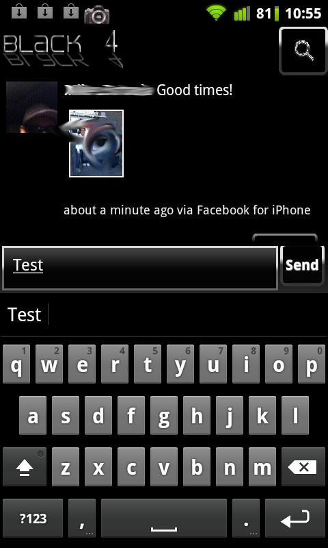 Black 4 Facebook - screenshot