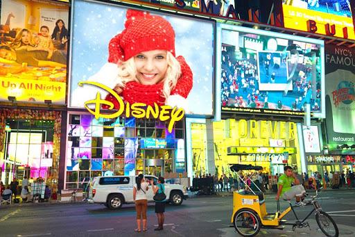 New York Billboard Frames