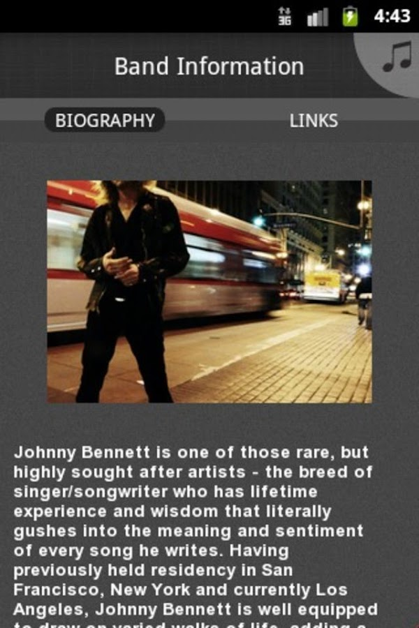 Johnny Bennett - screenshot