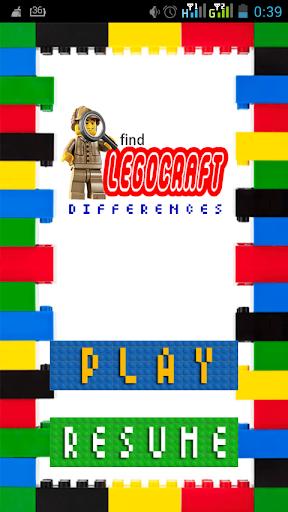 Find Legocraft Differences