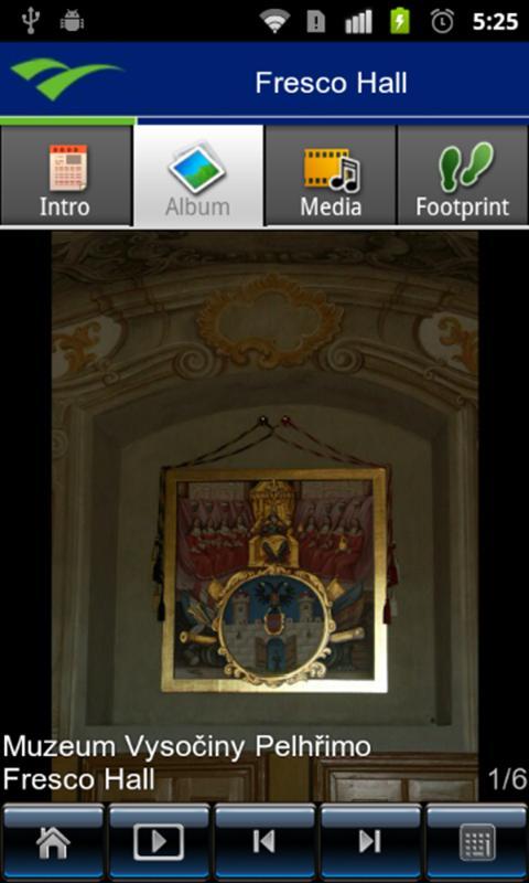 Muzeum4U_Vysocina- screenshot