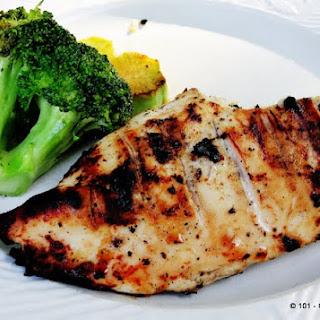 Simply Martha - Buttermilk Grilled Skinless Boneless Chicken Breast.