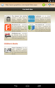 ePub Reader for Android - screenshot thumbnail