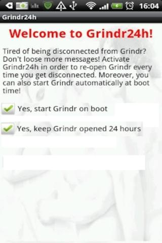 Grindr24h - screenshot