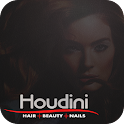 Houdini Hair Beauty and Nails logo