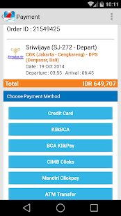 Indonesia Flight - Tiket - screenshot thumbnail