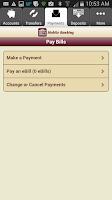 Screenshot of Hingham Savings Mobile Banking