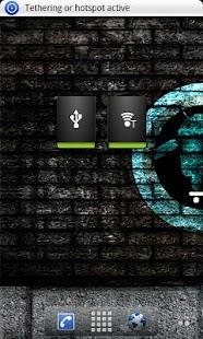 Tethering Widget- screenshot thumbnail