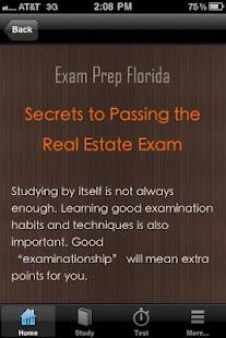 Florida Real Estate Exam Prep- screenshot thumbnail