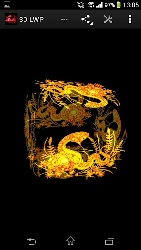 玩生活App|蛇中國十二生肖動態壁紙免費|APP試玩