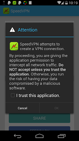 SpeedVPN Best Free VPN 1.3.5 screenshot 49556