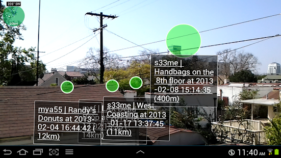 1 Widespread Augmented Reality - screenshot thumbnail