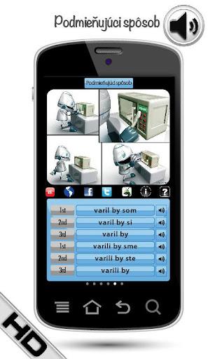玩教育App|学习斯洛伐克语动词 HD LearnBots免費|APP試玩