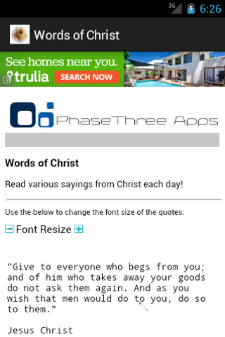 Words of Christ