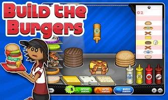Screenshot of Papa's Burgeria