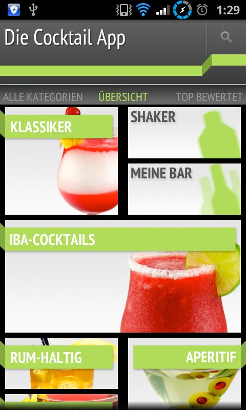 Die Cocktail App Lite- screenshot