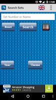 Screenshot of MeLikeyBricks: Minifigs & Sets