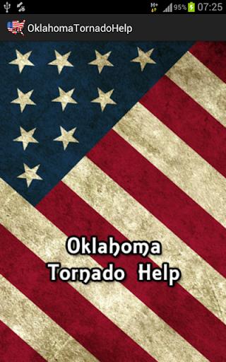 Oklahoma Tornado Help