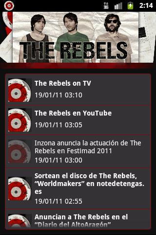 The Rebels - screenshot