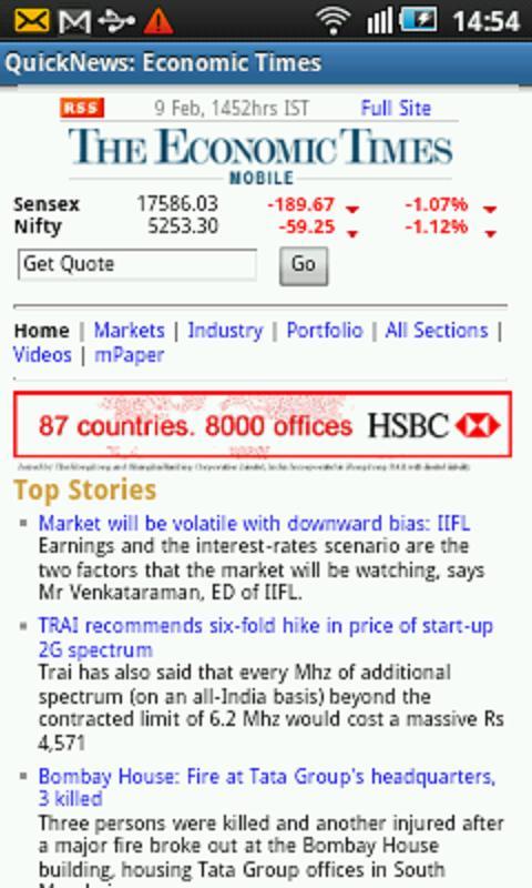 QuickNews India- screenshot