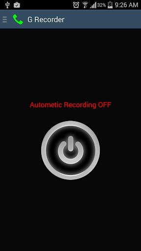 G Recorder - Call Recording