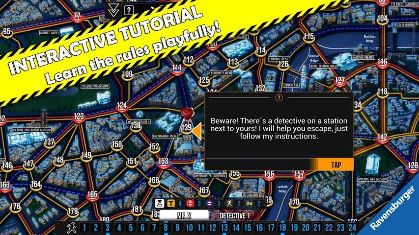 android Scotland Yard Screenshot 11