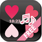 [Free]Flow Corazón! LWP Clock! icon