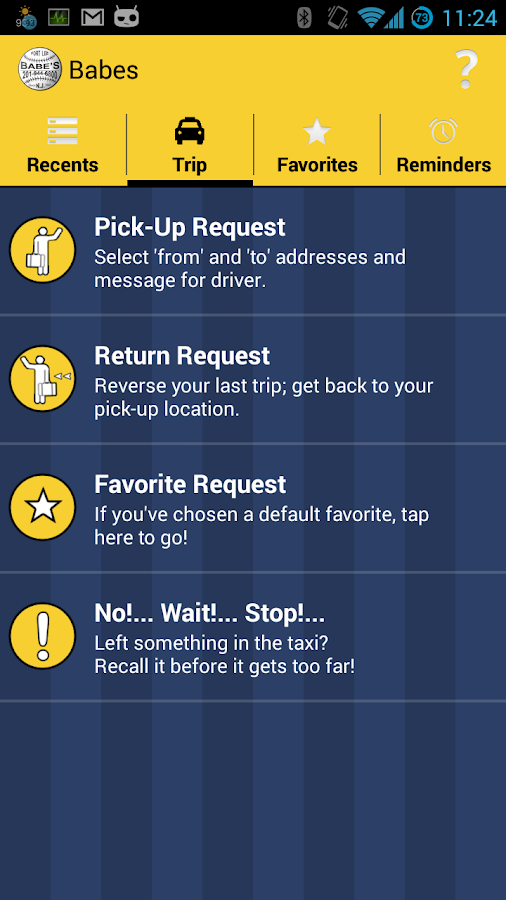Babes Taxi, powered by NexTaxi- screenshot