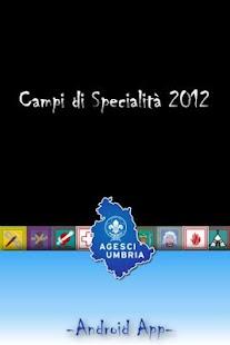 Campi Specialità Umbria 2012- screenshot thumbnail