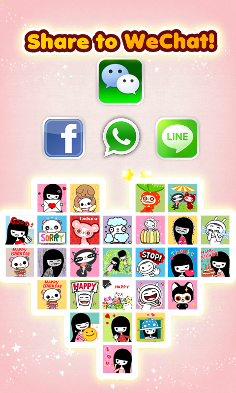 My Chat Sticker EMOJI 2 - screenshot