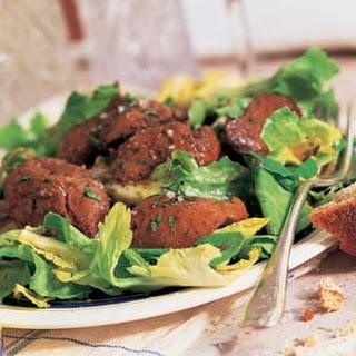 Warm Escarole and Chicken Liver Salad (Salade de Foies de Volailles)