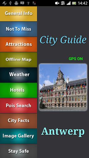 Antwerp Offline Guide