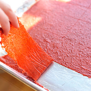 """""""Homemade Fruit Leather""""."""