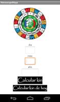 Screenshot of Horoscopo Maya