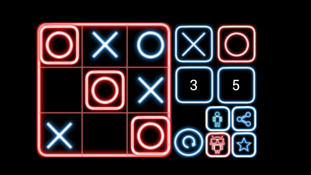 Triqui tic tac toe - screenshot