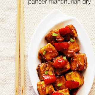 Dry Paneer Manchurian