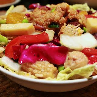 Crispy Chicken Asian Salad.