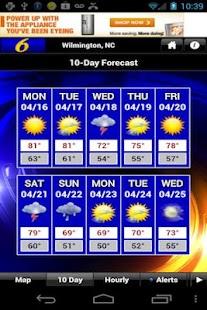 WECT 6 First Alert Weather - screenshot thumbnail