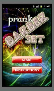 Pranks Barber Set- screenshot thumbnail